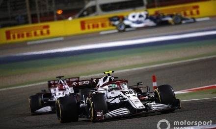 Alfa Romeo has reclaimed its spot in the F1 midfield
