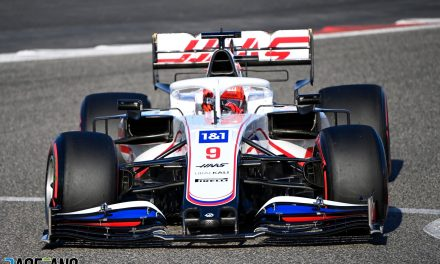 """Haas """"not putting in any effort"""" to do more than fight Williams this year · RaceFans"""