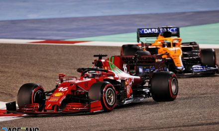 Ferrari quicker than McLaren in qualifying but not race trim