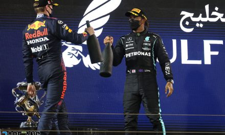 """Lost win in Bahrain """"is not going to matter"""" if we have fastest car · RaceFans"""
