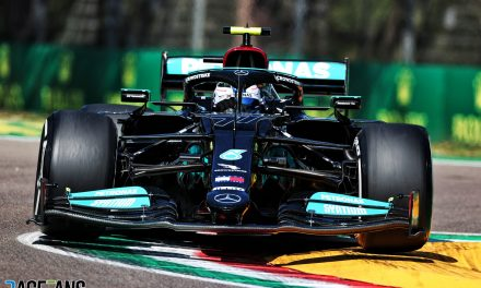 Bottas leads another close practice session at Imola as car fault stops Verstappen · RaceFans