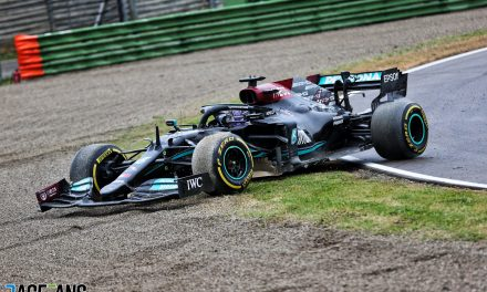 'Hamilton didn't break the rules by reversing' shouldn't be a story · RaceFans