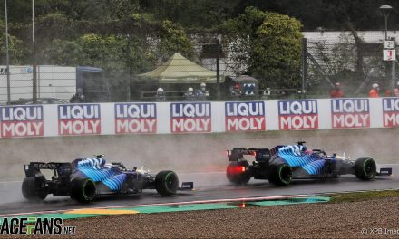 Williams had 'a good weekend on the whole' despite both drivers crashing out of race · RaceFans