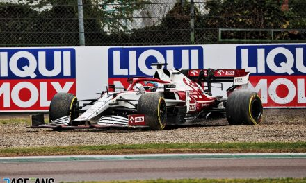 Alfa Romeo request review of penalty which cost Raikkonen points finish at Imola · RaceFans
