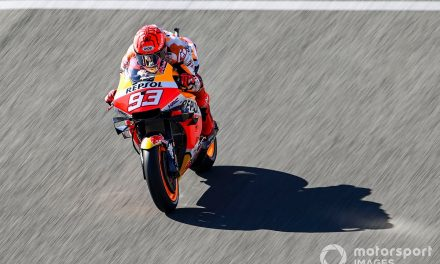 "Marquez ""destroyed"" after Jerez MotoGP race"