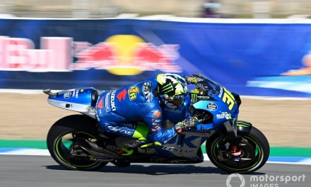 "Mir ""not worried"" by winless start to MotoGP title defence"
