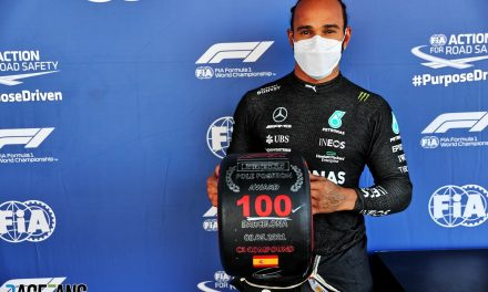 Hamilton takes 100th pole by hundredths from Verstappen · RaceFans