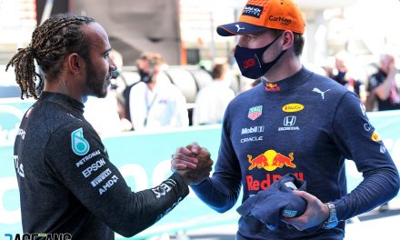 Can Verstappen use Hamilton's Bahrain strategy to end his winning streak in Spain? · RaceFans